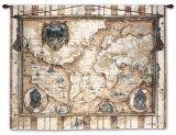 Souvenirs des Voyage Wall Tapestry by Elizabeth Jardine