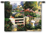 Gate Wall Tapestry by Kent Wallis