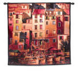 Mediterranean Gold Wall Tapestry by Michael O&#39;Toole