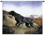 German Shorthair Wall Tapestry by Robert May
