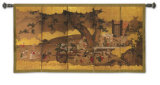 Gods of Good Fortune Wall Tapestry
