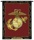 Marine Corps Wall Tapestry