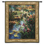Summer Lily Wall Tapestry by Vail Oxley