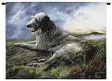 Scottish Deerhound Wall Tapestry by Robert May