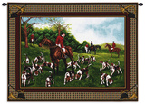 Fox Hunt Wall Tapestry