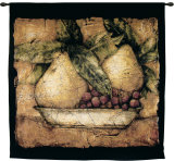 Pompeiian Pears Wall Tapestry by James Manning