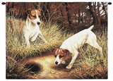 Jack Russell Wall Tapestry by Robert May