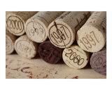 Vintage Wine Corks Photographic Print by Frank Tschakert