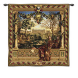 Le Chateau de Monceau Wall Tapestry