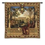 Le Chateau de Monceau Wall Tapestry