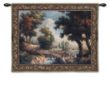 Early Autumn Crossing Wall Tapestry by Riccardo Bianchi