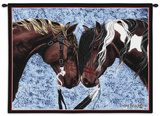 Warriors' Truce Wall Tapestry by Diana Beach-stamper