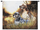 English Setter Wall Tapestry by Robert May