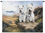 West Highland Terrier Wall Tapestry by Robert May