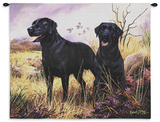 Black Lab Wall Tapestry by Robert May