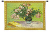 Oleanders Wall Tapestry by Vincent van Gogh