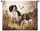 Springer Spaniel Wall Tapestry by Robert May