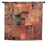 Visual Pattern II Wall Tapestry by Linda Thompson
