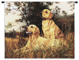 Golden Retriever Wall Tapestry by Robert May