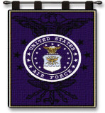 Air Force Wall Tapestry