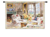Sun Filled Chintz Wall Tapestry by Marilyn Simandle