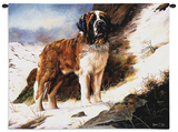 Saint Bernard Wall Tapestry by Robert May