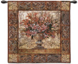 Floral Tapestry Wall Tapestry by Richard Hall