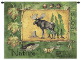 Nature Moose Wall Tapestry by Anita Phillips