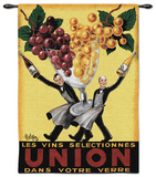 Le Vins Selectionnes Union Wall Tapestry