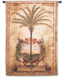 Sunset Palm Wall Tapestry by Elizabeth Jardine