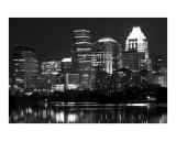 Austin Texas BW Photographic Print by John Gusky