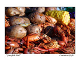 Crawfish Boil - Louisiana Style Photographic Print by Cynthia Stephens Williams