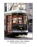 St. Charles Street Car Photographic Print by Cynthia Stephens Williams