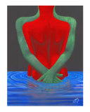 Romantic Wet Giclee Print by Jerry Clovis