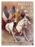 Buffalo Bill's Wild West, Cody's Wild West - Giclee Baskı