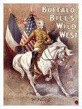 Buffalo Bill's Wild West, Cody's Wild West Giclee Print