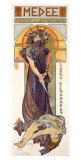 Medee, Sarah Bernhardt Giclee Print by Alphonse Mucha