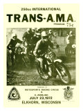 Trans-AMA 250 Motocross, c.1972 Giclee Print