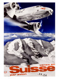 Swiss Airways Giclee Print