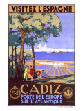Cadiz Spain Reproduction procédé giclée