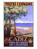 Cadiz Spain Giclee Print