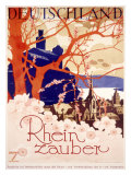 Rhine River Magic Tour Giclee Print