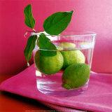Citrons Verts Poster by Amelie Vuillon