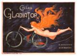 Cycles Gladiator Giclée-Druck