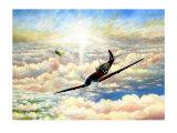 Spitfire MK1 Giclee Print by Douglas Castleman
