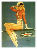 Pin-Up Girl: Army Air Force Giclee Print
