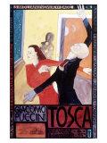 Tosca Premier Art Exhibit Giclee Print