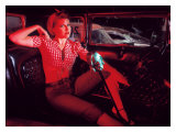 Pin-Up Girl: Rock a Billy Red Hot Giclee Print by David Perry