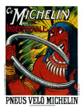 Michelin, Indian Bicycle Tire Giclee Print
