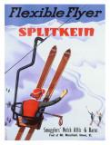Mount Mansfield Ski Resort Giclee Print by Sasha Mauer